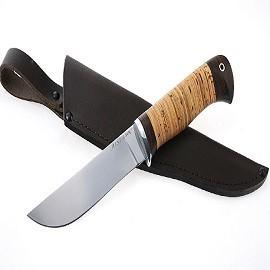 Нож Лось сталь AISI 440C, рукоять береста