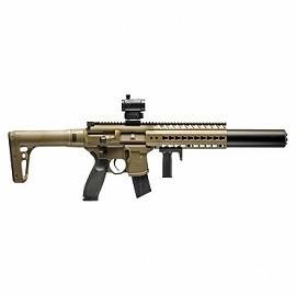 Пневматическая винтовка Sig Sauer MCX FDE-R 4,5 мм
