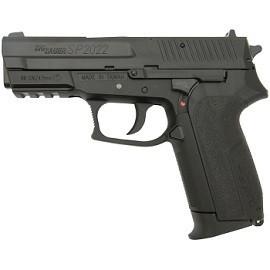Пневматический пистолет Swiss Arms SIG SP2022 Black (288012) 4,5 мм