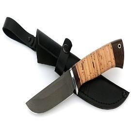 Нож Голубь сталь Х12МФ, рукоять береста