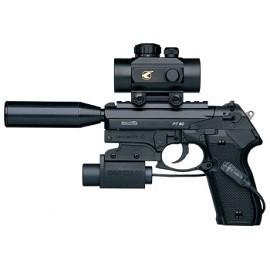 Пневматический пистолет Gamo PT-80 Tactical 4,5 мм